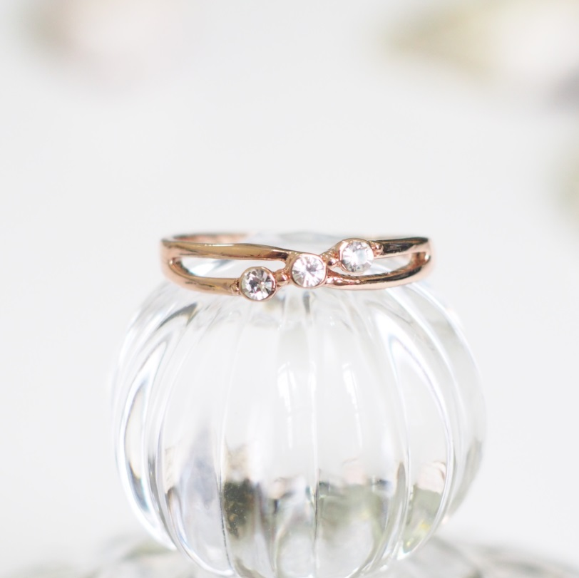 Rose Gold Engagement Ring Vintage Ring Simple Ring Cool Ring Best Friends